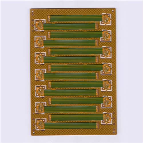 Six Layer Flexible-Rigid PCB